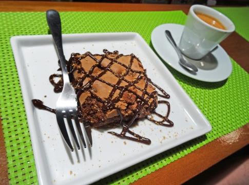 O famoso brownie